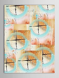 Hand Painted Oil Painting Abstract   Canvas Painting with Stretched Frame