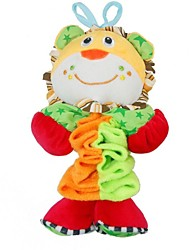 Babyfans ™  Baby Cute Lion Cartoon Shaped Plush Music Flexible Puppet Educational Toys