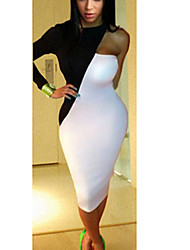 mode bali couleurs assorties sexy robe bustier discothèque