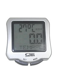 Sunding Bike Computer, Cycling Mini Waterproof Computer Odometer Speedometer Calories