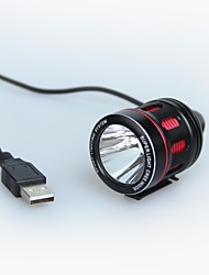 K1TR+S Professional Multifunctional USB Bicycle Lamp&HeadLamp&Tent Lamp; 6-Mode CREE XPE-R3;350 LM;Rotated 360