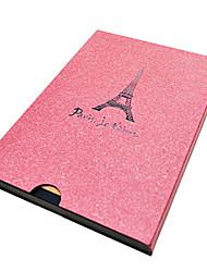 A5 Design of Eiffel Tower DIY Album(Green,Red,Brown,Black,Grey)