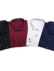 4-Piece Long Sleeve Shirts Combo