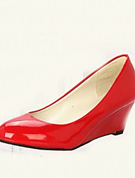 Amei European Simple Causal All-Matched High Heel Shoes_18
