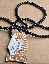 мода ударил хип-хоп последние цари кулон многоцветный акрил ожерелье (1 шт) (больше цвета)