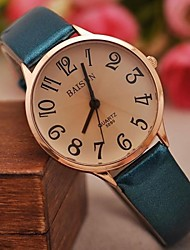 Women's Fashion Contracted Bright Skin Larger Numbers Watches(Assorted Colors) Cool Watches Unique Watches