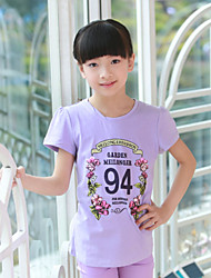 Dragon Girl's Cotton Comfortable All-matched T-shirt MGDT32207 12