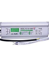 fs-12v 150w-150w xinyuanyang® externa impermeable llevó la fuente de alimentación -plata conductor (110 ~ 250v)