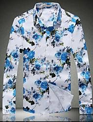 Men's Long Sleeve Shirt Color