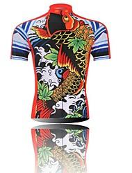 XINTOWN Camisa para Ciclismo Homens Manga Curta Moto Secagem Rápida Resistente Raios Ultravioleta Zíper Frontal Á Prova-de-Pó Vestível