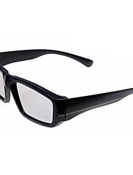 Polarized Light Split-screen 3D Glasses for TV (Black)