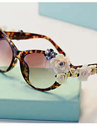 J&X Luxurious Anti Uv Baroque Leopard Sunglasses