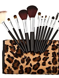 12Pcs Professional Hot Toiletry Kit with Fashional Leopard Print Package