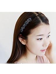 de style coréen de beaux accessoires de cheveux perle main de bandeaux de couleur aléatoire