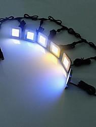 High Quality 6 Pcs 0.6W Waterproof IP67 Outdoor LED Floor Recessed Lights Inground Lighting