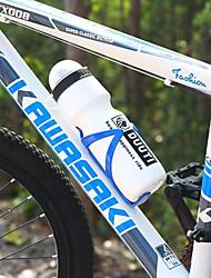 duuti 750ml witte plastic draagbare warm houden fietsen fles water