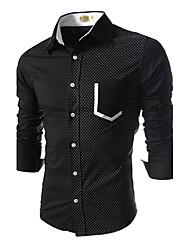 Jogal 3D Leisure Fashion Long Sleeve Shirt
