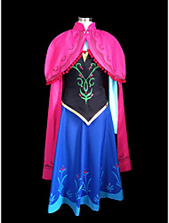 hielo y nieve princesa anna impresión vestido