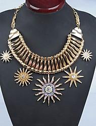 mts westlichen Stil Vintage Luxus Kragen Halskette