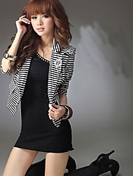 Women's Stripes Joker Coat