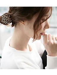 stile coreano legami dei capelli a forma di cuore pantherine colore casuale