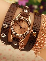 amo reloj diamonade vendimia con chain_brown