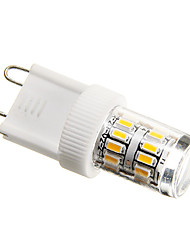 3W G9 LED Corn Lights T 27 SMD 3014 200-250 lm Warm White Decorative AC 220-240 V