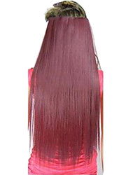 Hot Selling  Clips  Colour  Colorful Red    Bar  Wholesale  Hair Extension  Girl  Beauty  Top Quality