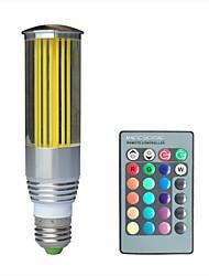 jiawen® e27 3w rgb 16 couleurs cristal conduit ampoule avec télécommande (ac 100-220v)