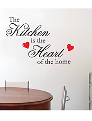 JiuBai™ Kitchen Quote Home Decoration Wall Sticker Wall Decal