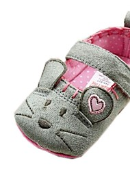 Girl's Shoes Mary Jane Flat Heel Cotton Loafers Shoes