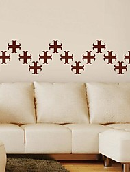 Wall Stickers Wall Decals, Modern Abstract clover PVC Wall Stickers