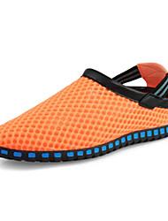 Chaussures homme ( Noir/Bleu/Orange ) - Nylon - Marche