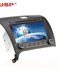 CUSP® 8 Inch 2Din In-Dash Car DVD Player for KIA CERATO/K3/FORTE 2013 Support GPS,BT,RDS,Game,iPod