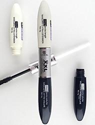 lideal®2in1 2 brosses 2 mascara microfibre imperméable mascara ensemble (longueur supplémentaire&mascara volume dans les extensions de cils)