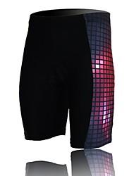 XINTOWN Unisex The High Quality Terylene Cushion Cycling Shorts—Black+Red