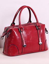 moda weixiaohudie europeu de bolsas de estilo crossbody (vermelho)