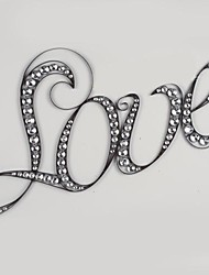 Metal Wall Art Wall Decor,Love Wall Decor