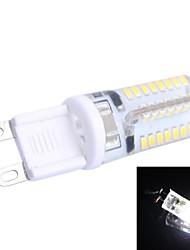 g9 3w 170lm 7000k 64x3014 blanc conduit ampoule (ca 200-240)