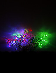 4M 20 LEDs Christmas Halloween decorative lights festive strip lights-Christmas bells (220V)