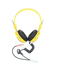 JM-807 Wearing Anti-Violence Microphone Headset(Assorted Colors)