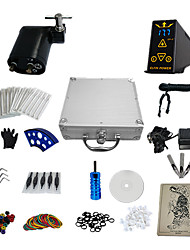 1 Gun Complete No Ink Tattoo Kit with Titanium Alloy Motor Machine