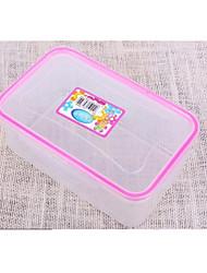 пластиковая прямоугольная прозрачная запечатаны четкими, 12x20x8cm