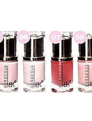1pcs ingredientes de alta calidad de la moda de uñas no.5-8 esmalte (color surtidos)