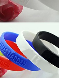 # - Bracelet - Bracelets d'identification - en Silicone - pour Quotidien/Casual/Sports - Lureme®