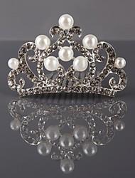 elegante tiara de strass feminino