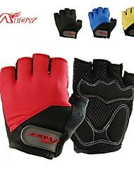 Aidy ao ar livre ciclismo luvas de dedos curtos b-1205
