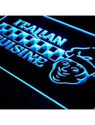 j371 Italian Cuisine Food Cafe Bar Neon Light Sign