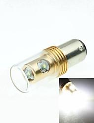 baz15d 1122 p21 Cree XP-E LED 20W 1300-1600lm 6500-7500K ac / dc12v-24 a su vez luz blanca - oro transparente