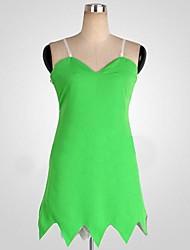 Costumes de Cosplay / Costume de Soirée Cosplay Fête / Célébration Déguisement Halloween Vert Couleur Pleine Robe HalloweenFéminin /